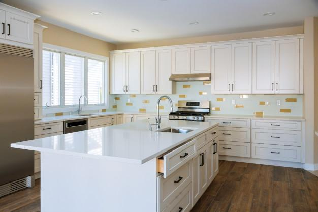 Updating of kitchen cabinets